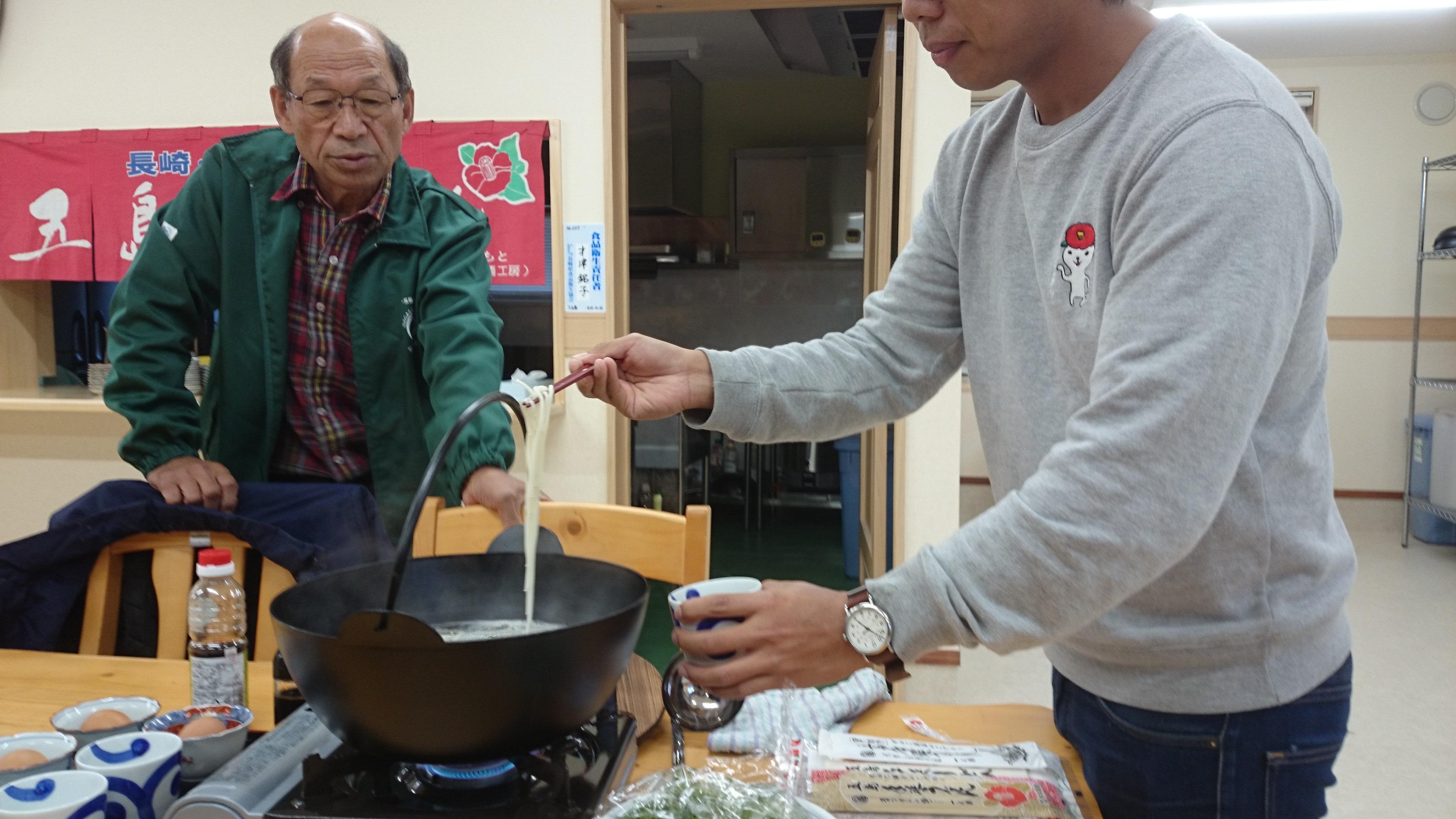 福江島の五島うどんは中本製麺がおススメ